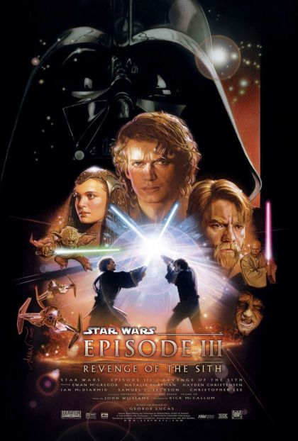revenge of the sith poster PROPER